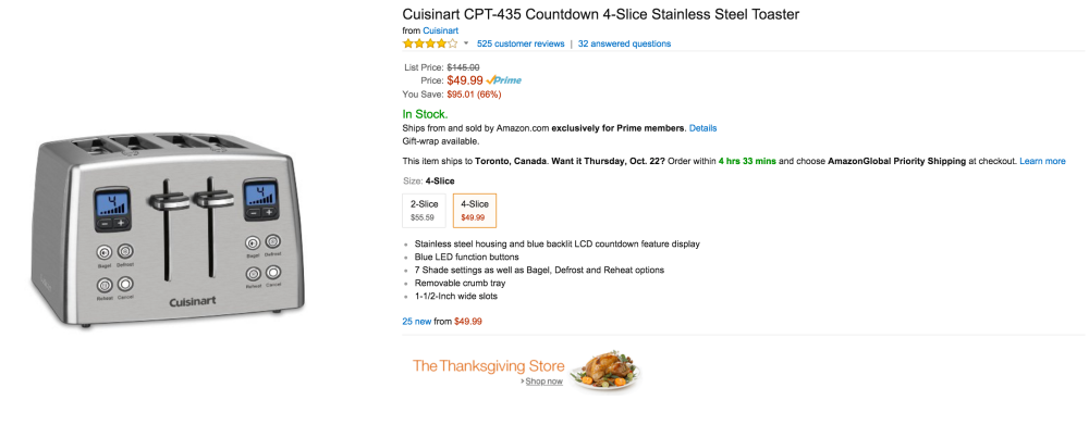 Cuisinart Countdown 4-Slice Stainless Steel Toaster (CPT-435)-sale--03