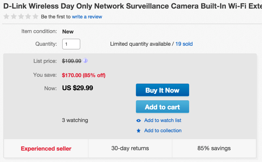 D-Link Wireless Day Only Network Surveillance Camera with Built-in Wi-Fi Extender (DCS-931L)-sale-02
