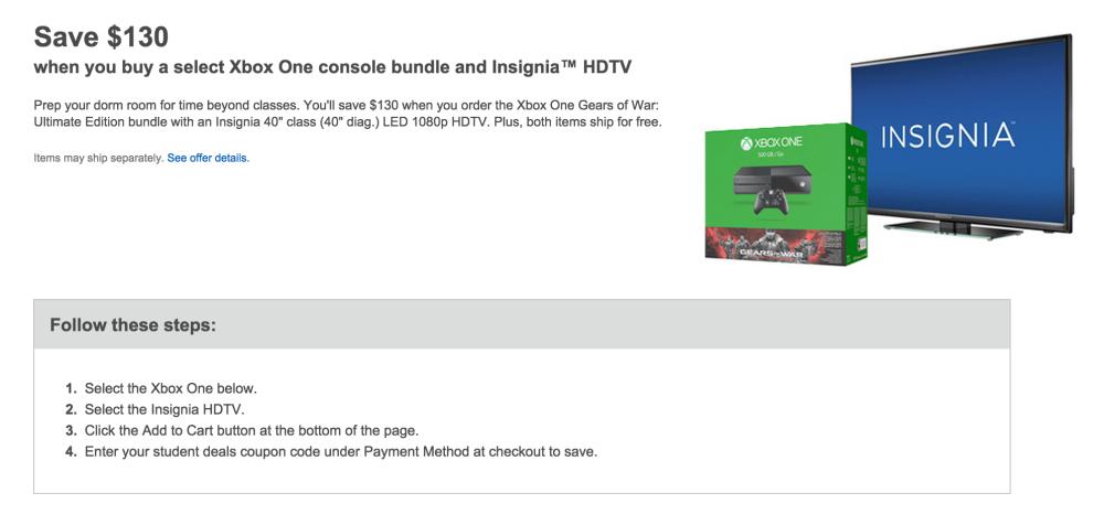 Gears of War-Xbox-HDTV-bundle-sale