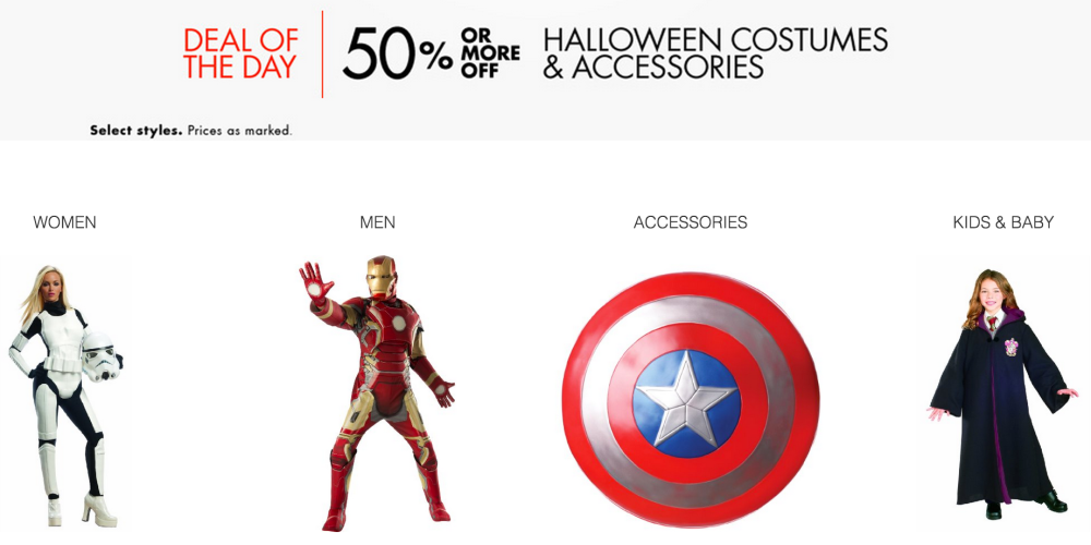 Halloween costumes at amazon 50 off