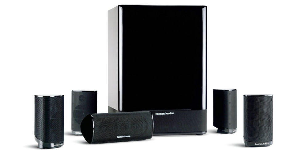 Harman Kardon 5.1 High-Performance, 6-Piece Home Theater Speaker System