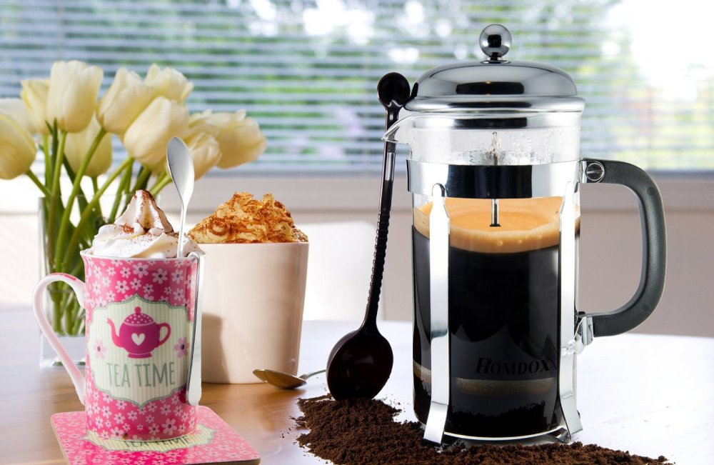 Homdox French Press Coffee &Tea Maker-sale-01