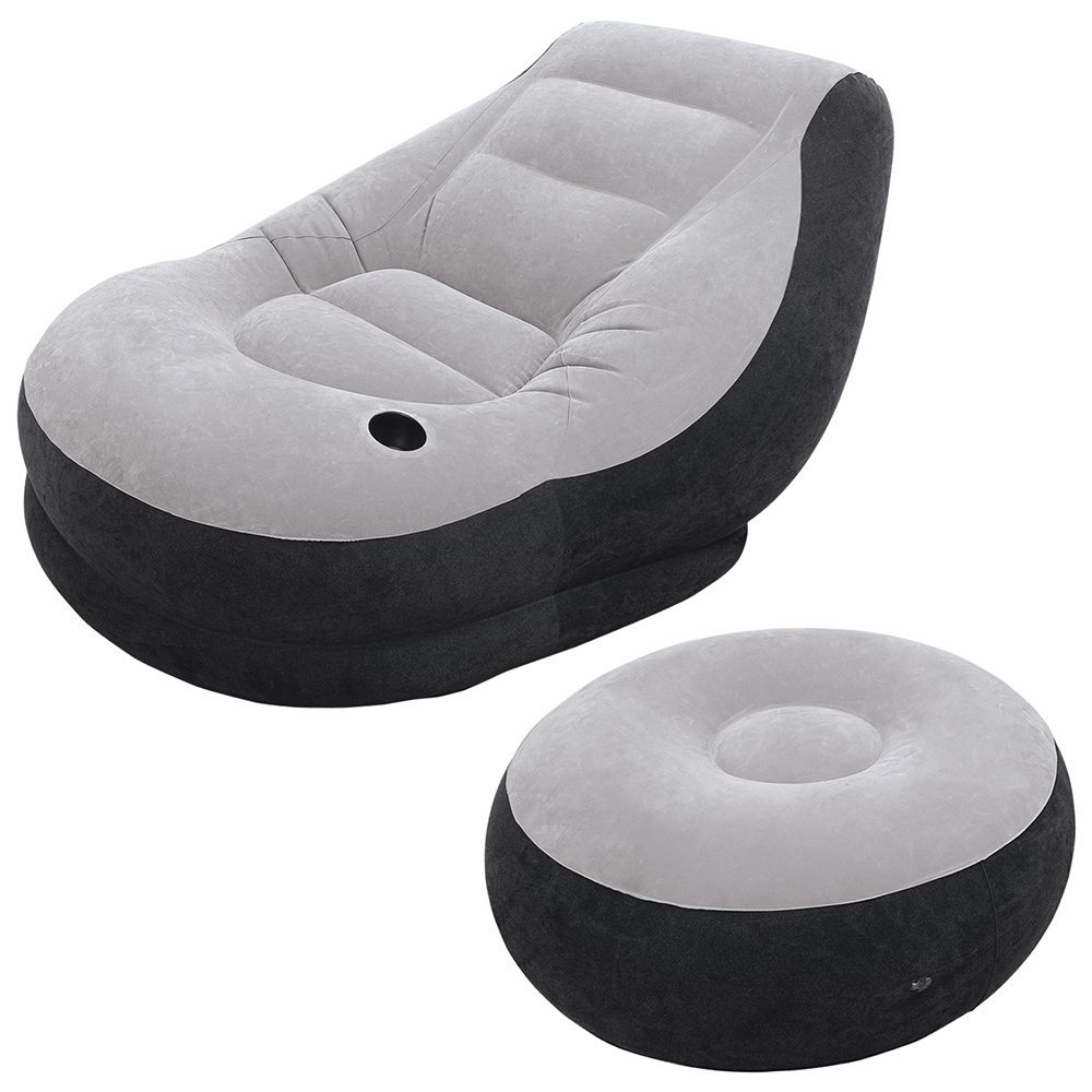 Intex Inflatable Ultra Lounge with Ottoman-sale-01