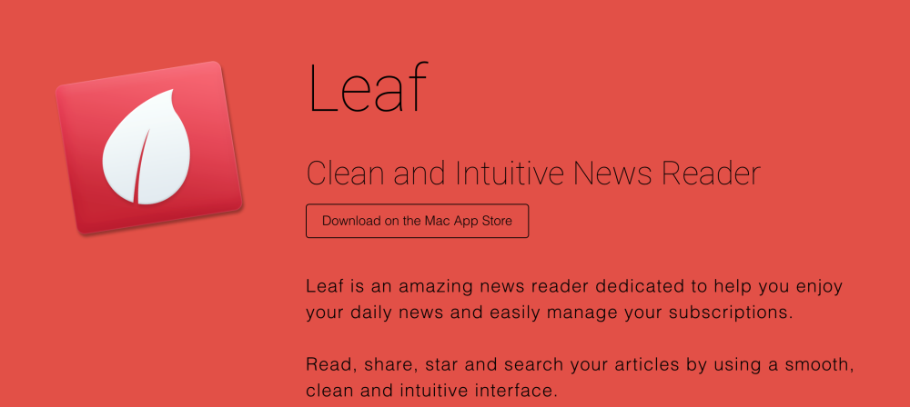 Leaf - RSS News Reader-sale-01