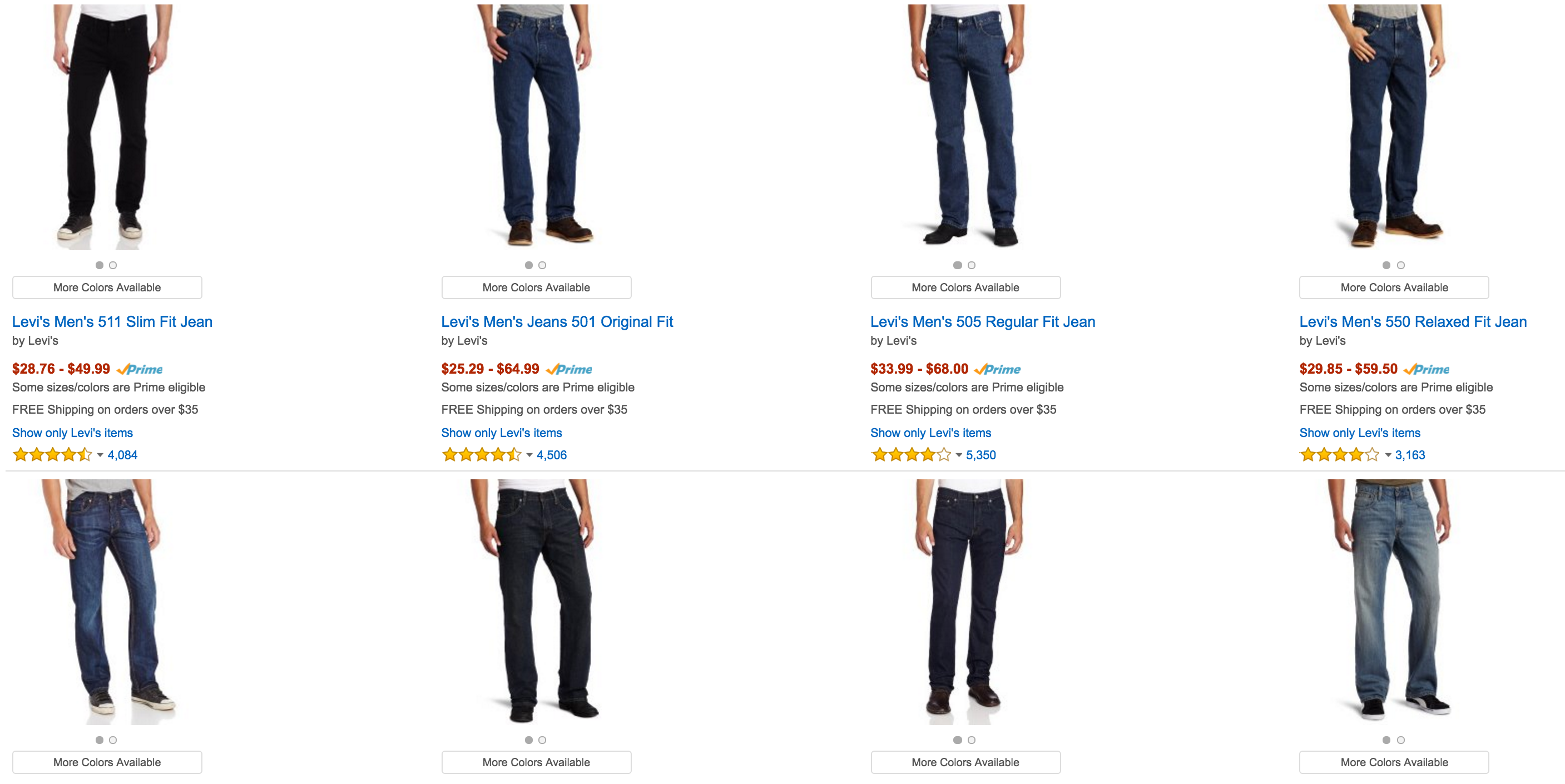 For And Slashes Men Women Jeans Prices Boys Levi's On Amazon UqXx68p8