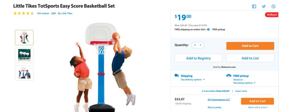 Little Tikes TotSports Easy Score Basketball Set-sale-04