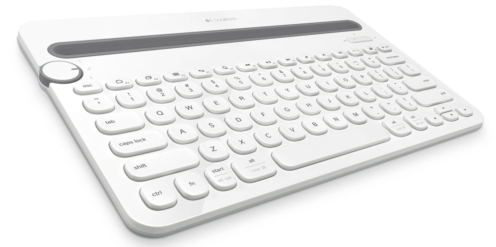 logitech-k480-white