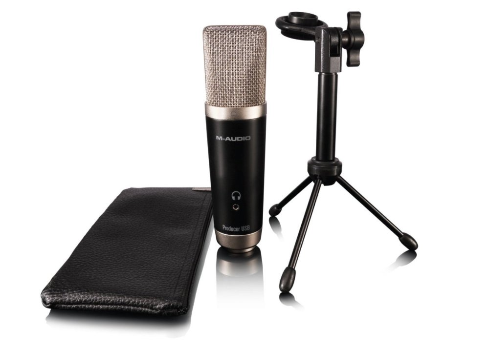 M-Audio Vocal Studio Digital Recording Bundle and USB Condenser Microphone-sale-02