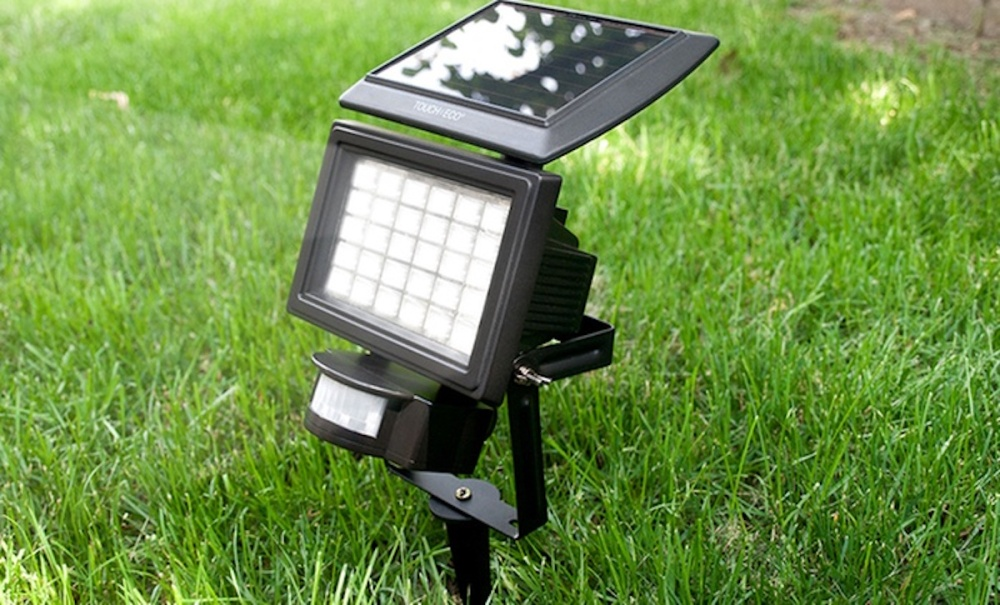 Nitewatch Solar-Powered LED Floodlight from Touch Of ECO