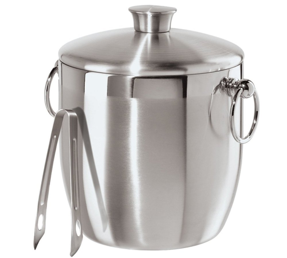 Oggi Stainless Steel Ice Bucket with Tongs0sale-01