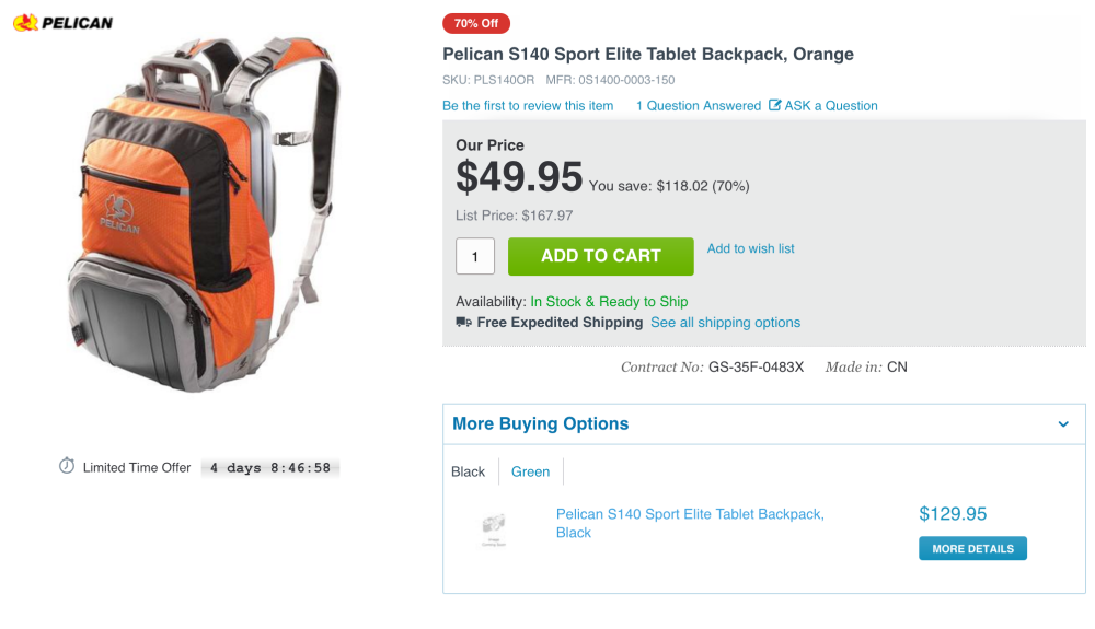 Pelican S140 Sport Elite Tablet Backpack-sale-09