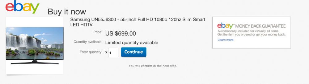 Samsung 55-Inch Full HD 1080p 120Hz Slim Smart LED HDTV (2015 Model, UN55J6300)-sale-02