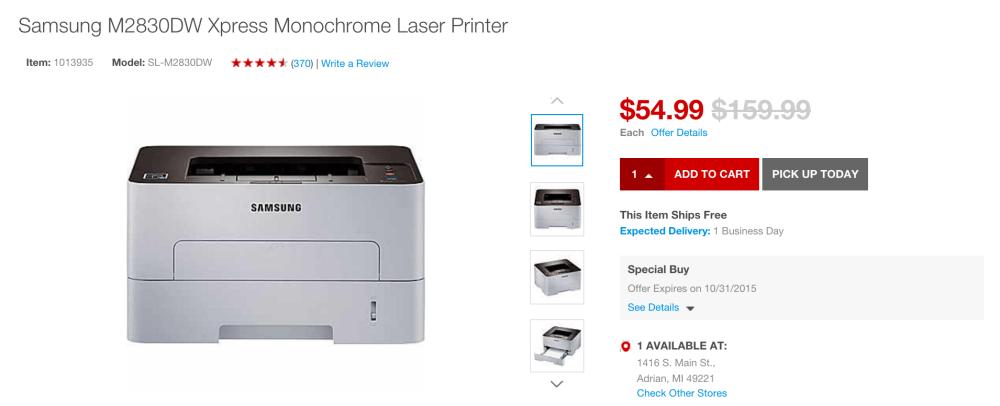 samsung-airprint-laser-staples-deal