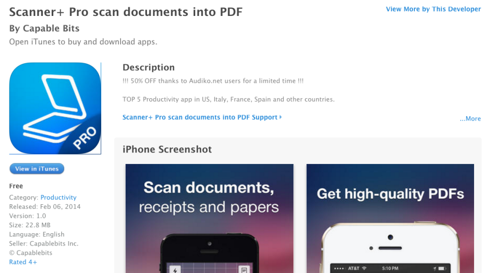 scanner-pro-capable-bits-free