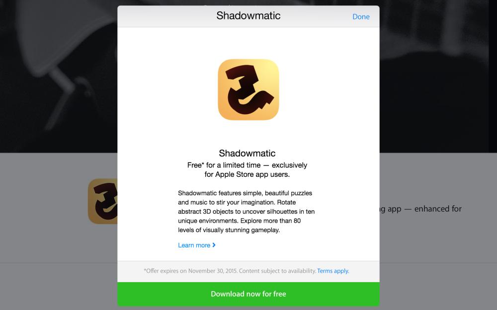 Shadowmatic-ios-app-free