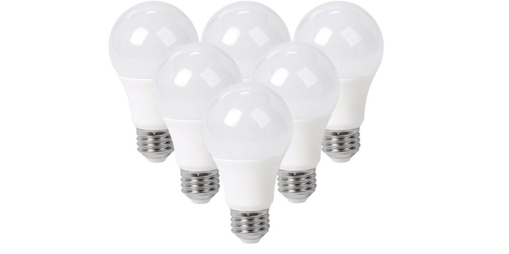 six pack of SunSun Lighting 60w LED light Bulbs