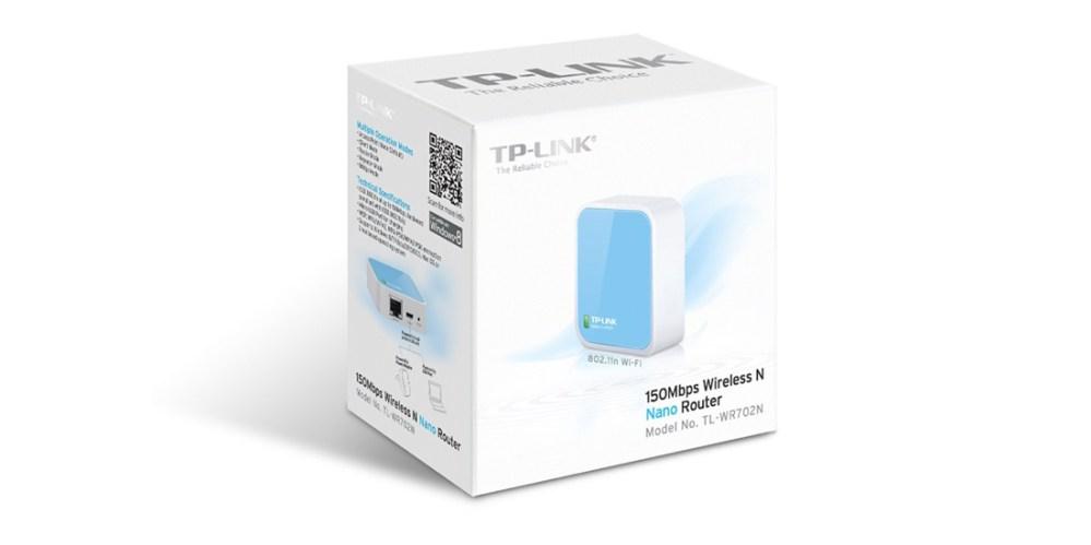 TP-LINK TL-WR702N_RE Wireless N Nano Router IEEE 802.3:3u, IEEE 802.11b:g:n
