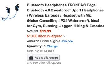 Trond headphones coupon