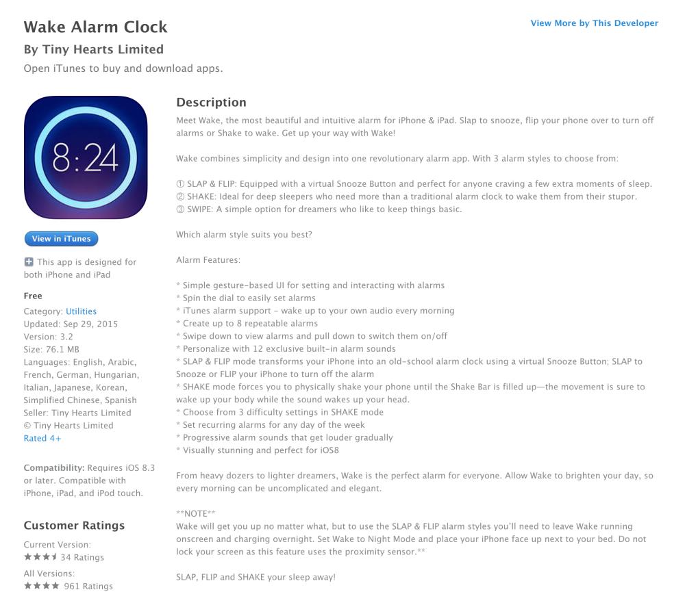Wake Alarm Clock-Free App of the Week-sale-07