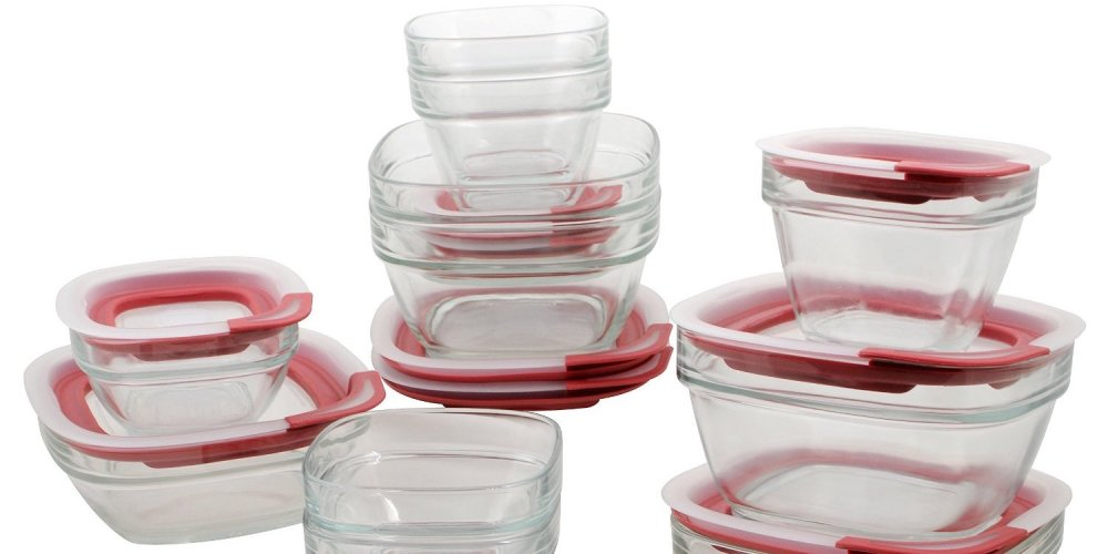 22-piece Rubbermaid Easy Find Lid Glass Food Storage Set-sale-01
