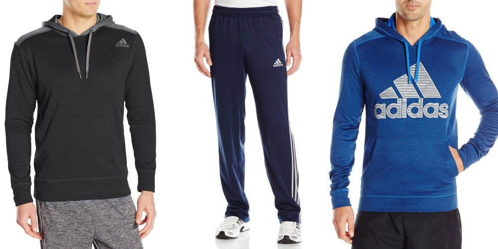 adidas Performance Men's Ultimate Fleece 3 Stripe Pants-sale-01