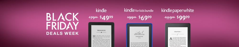 Amazon Kindle Black Friday Deals