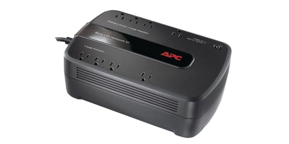 APC - Back-UPS 450VA Network 40 UPS - Black