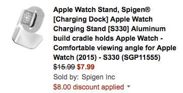 Apple Watch Stand Spigen Amazon