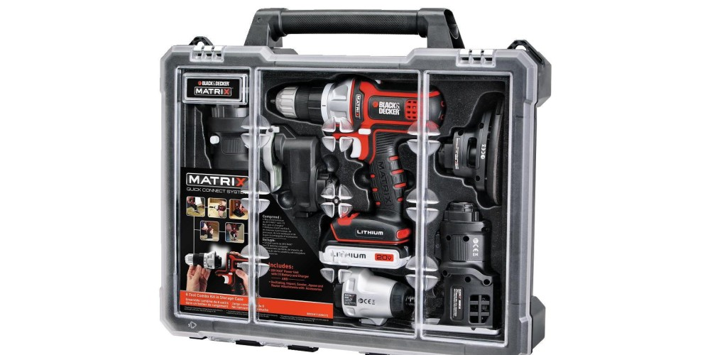 Black & Decker BDCDMT1206KITC Matrix 6 Tool Combo Kit with Case-sale-02