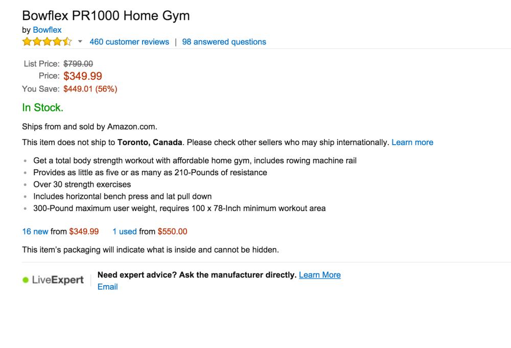 Bowflex PR1000 Home Gym-sale-02