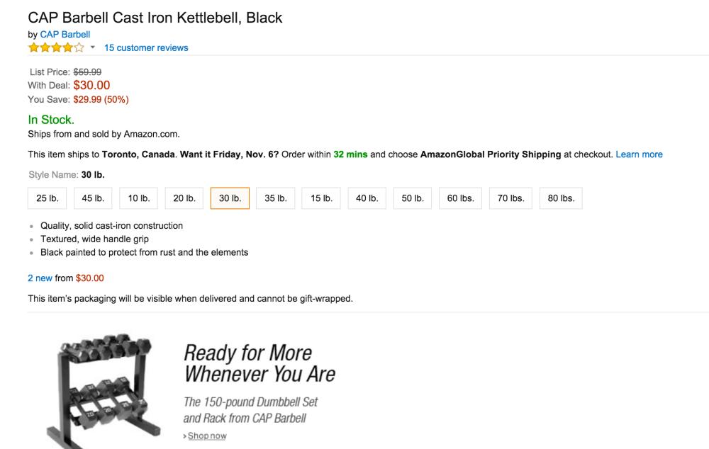 Cap Barbells Cast Iron Kettlebells-sale-02