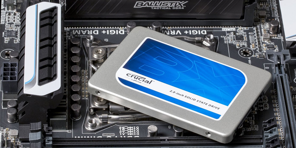 Crucial BX200 2.5%22 480GB SATA III Internal Solid State Drive