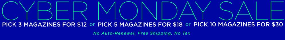 Cyber Monday Magazine sale-01