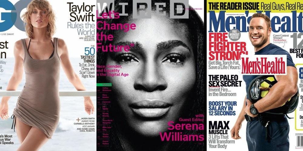 Cyber Monday Magazine sale-Wired-GQ-Men's Health