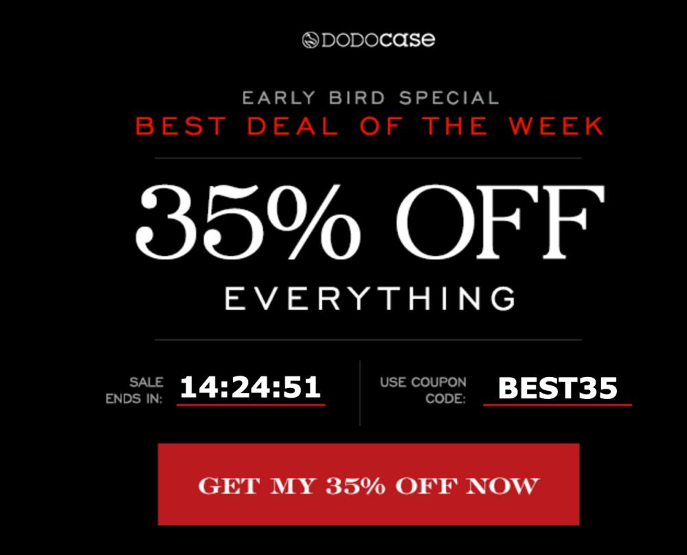 dodocase-black-friday-discount