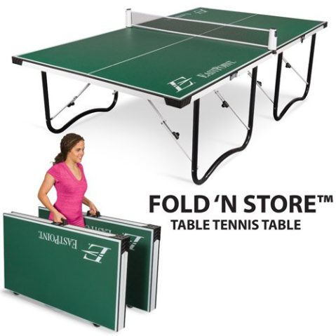 Sports Fitness Fold N Store Ping Pong Table 159 Reg