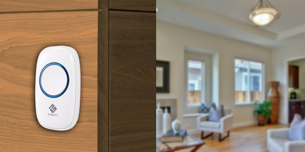 Etekcity via Amazon-Plug-in Wireless Doorbell Kit