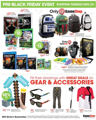 GameStop Black Friday ad leak: PS4/Xbox One bundles $300