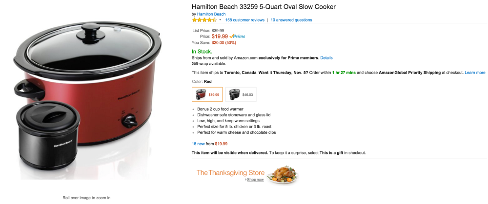 Hamilton Beach 5-Quart Oval Slow Cooker (33259)-sale-02
