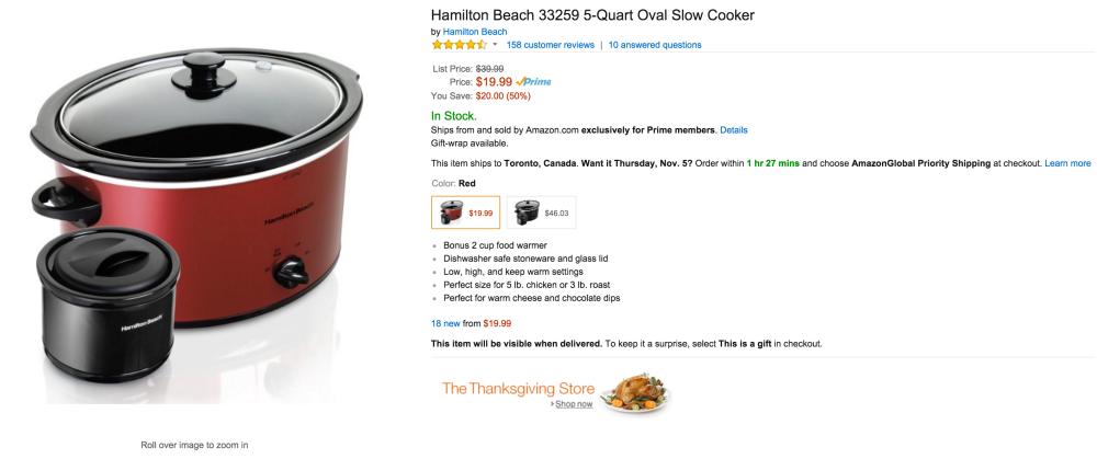 Hamilton Beach 5-Quart Oval Slow Cooker (33259)-sale-02