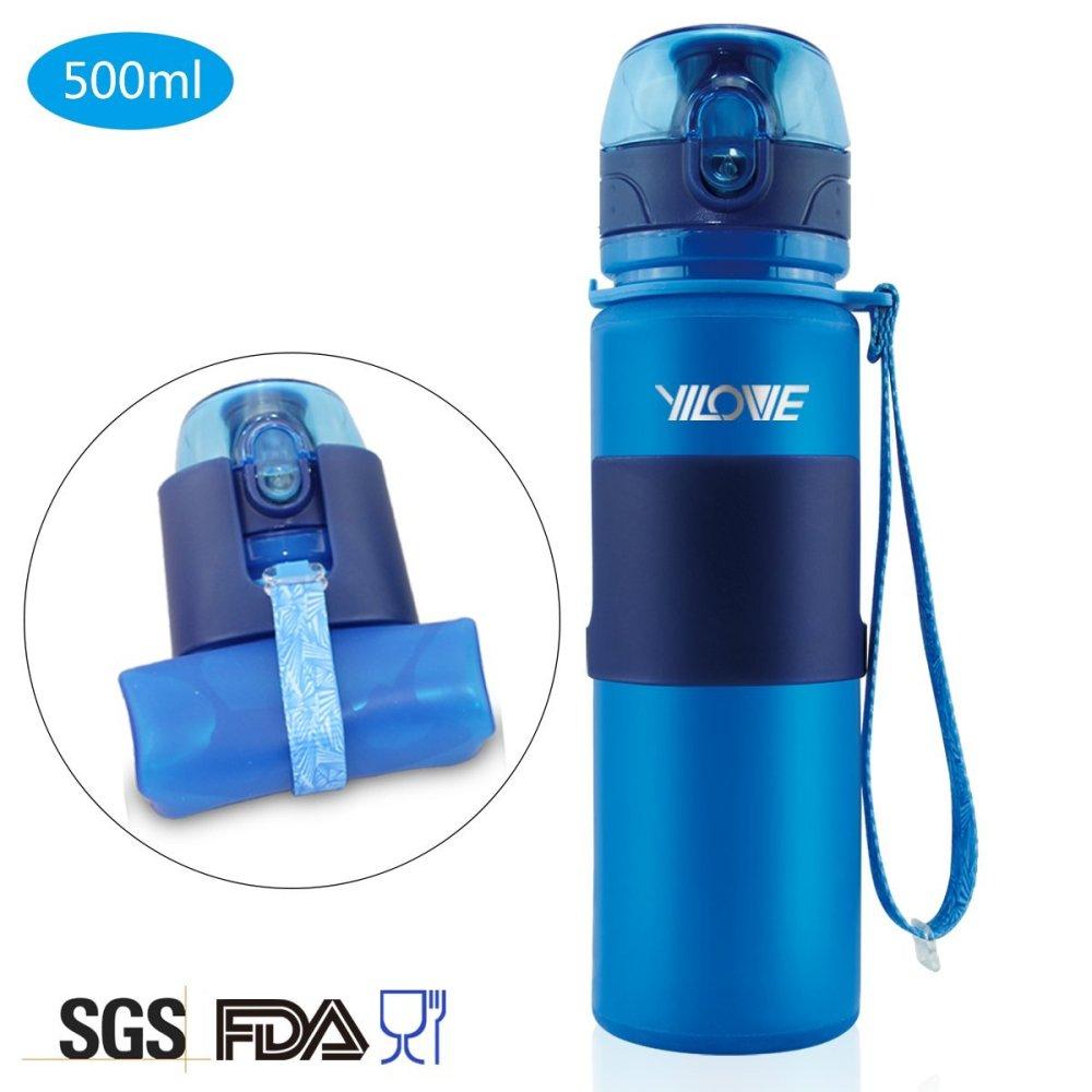 Home Yile BPA-Free 17 Ounce Foldable Magic Sports Water Bottle-sale-01