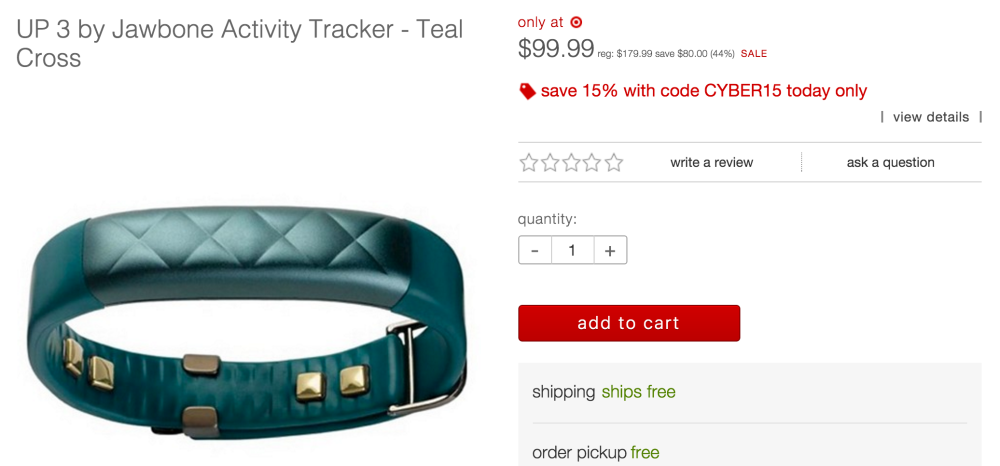 jawbone-up3-fitness-tracker-target-deal