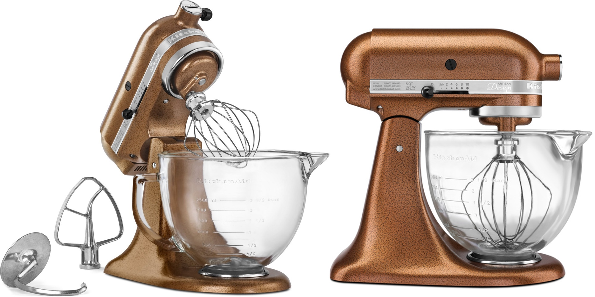 Moving well past its original model, KitchenAid's website lists fours types of stand mixers to cover a wide swath of budgets and needs. Individual series are distinguished .