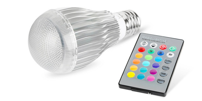 Magik Color Changing LED Light Bulb with Remote Control
