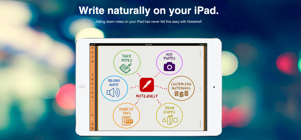 Noteshelf - Take Notes, Sketch, Annotate, Evernote Sync-sale01
