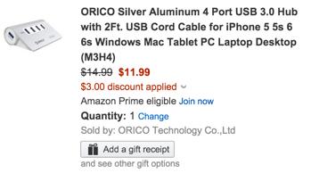 orico aluminum hub code