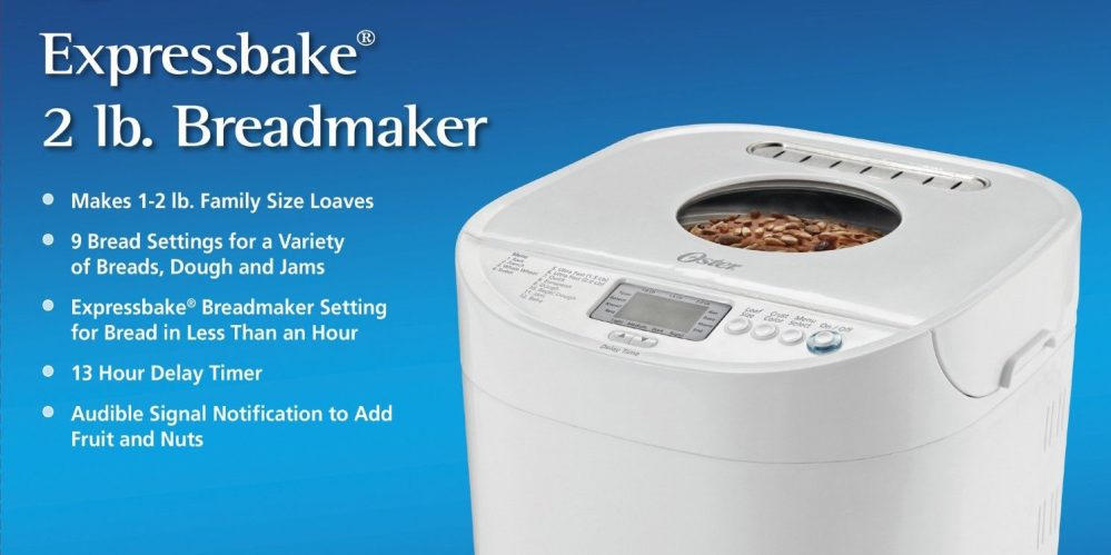Oster 2-Pound Expressbake Breadmaker (CKSTBRTW20)-sale-01