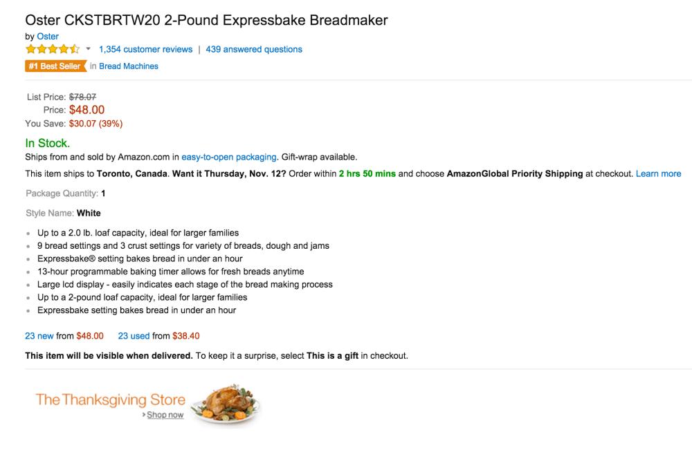 Oster 2-Pound Expressbake Breadmaker (CKSTBRTW20)-sale-02