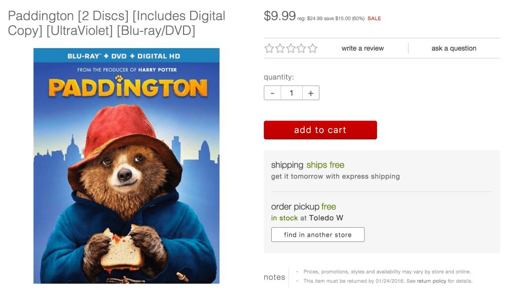 paddington-target-blu-ray-deal