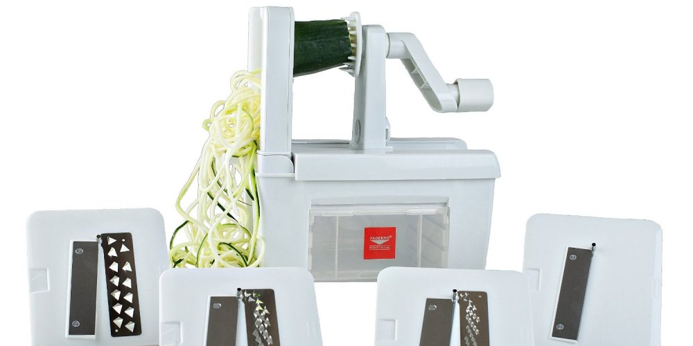 Paderno World Cuisine Spiralizer Pro-sale-01